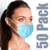 Earloop Mask_Pleated three layer_box of 50 count