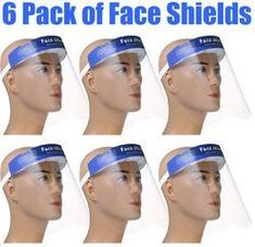 Face Shields_package of six