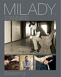 Milady Barber TEXTBOOK, Hardcover ISBN-13: 978-1305100558