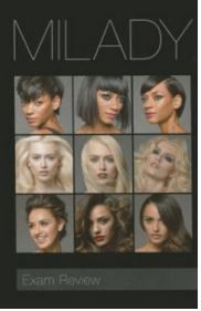 Milady Cosmetology Exam Review 2016 ISBN: 9781285769554