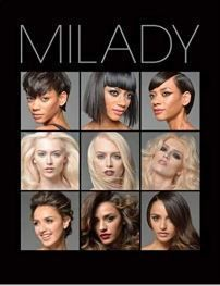 Milady Cosmetology Textbook 13th ed Hardcover, ISBN-13: 978-1285769417