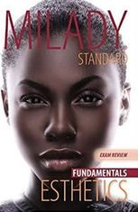 Milady Esthetics Fundamentals, EXAM Review,  Softcover, 11th. ed., ISBN-13: 978-1111306922
