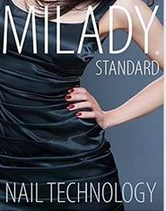 Milady Nail Technology TEXTBOOK paprback, ISBN-13: 978-1285080475