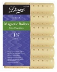 Diane #D2719 Beige Magnetic Rollers