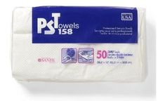PST158 (Professional Service Towels) Paper towels, 24.5 x 12 inch, pack of 50