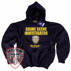 CSI HOODED SWEATSHIRT