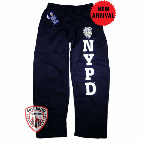 NYPD NAVY BLUE TRAINING SWEATPANTS