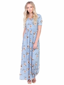 8221df37a2ab Modest Maxi Dresses with Sleeves and Modest Maxi Skirts
