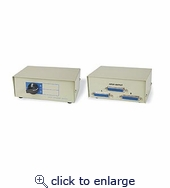 2 To 1 Par/serial Printer Switchbox DB25f