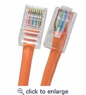 4Ft Cat.6 UTP Ethernet Network Non-Boot Patch Cable