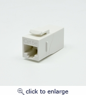 Cat.5E Right Angle Keystone Coupler