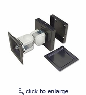 LCD Dual Swivel Mount For Wall And Track System