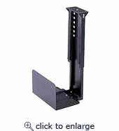 Stationary CPU Holder Under Desk Mount Cs-10