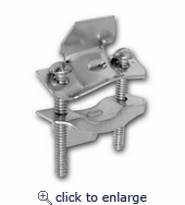 Tilt-in NM Cable Connectors - Steel 1-1/2