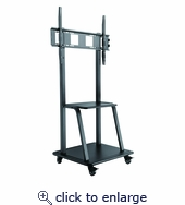 Ultra-Heavy Duty Steel Mobile TV Cart For 37~100