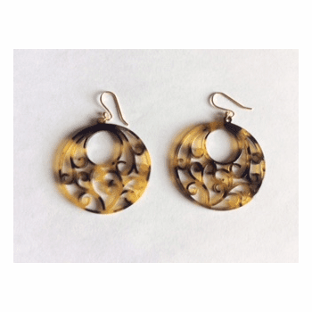 Acetate Ornate Earrings