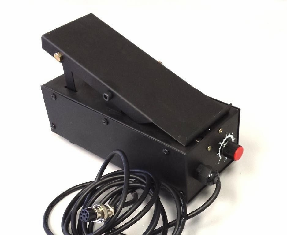 SIMADRE 7-PIN FOOT PEDAL for TIG WELDING of 5200D/DX, 520DP, TIG200DP DC INVERTER