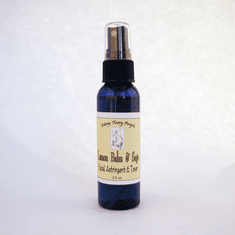 Lemon Balm and Sage Facial Toner