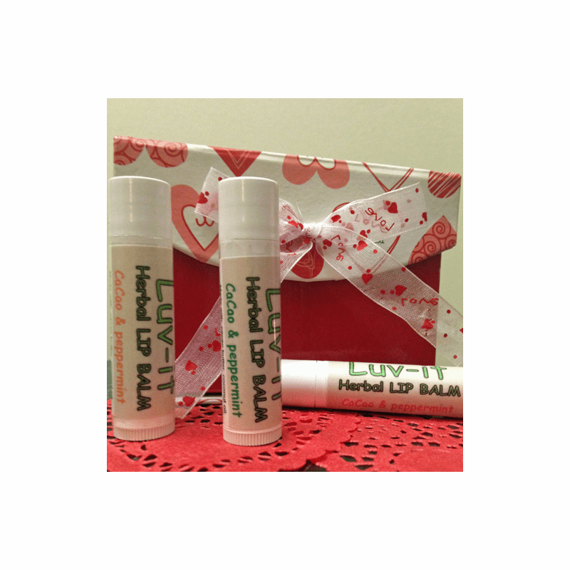 Luv-it Lip Balm Cacao & Peppermint