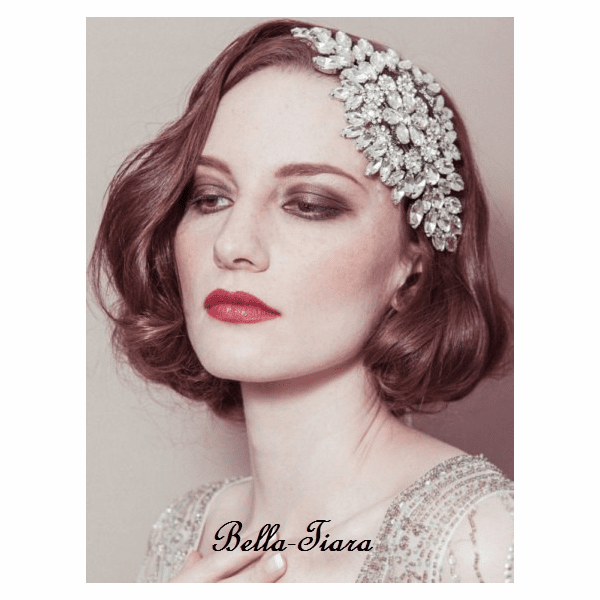 Alisha - Stunning vintage inspired headpiece - SALE
