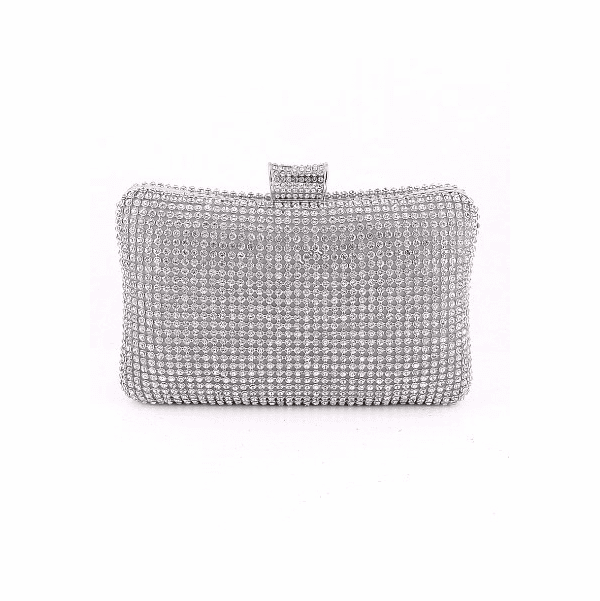 Ava - Dazzling rhinestone evening clutch purse - SPECIAL two left