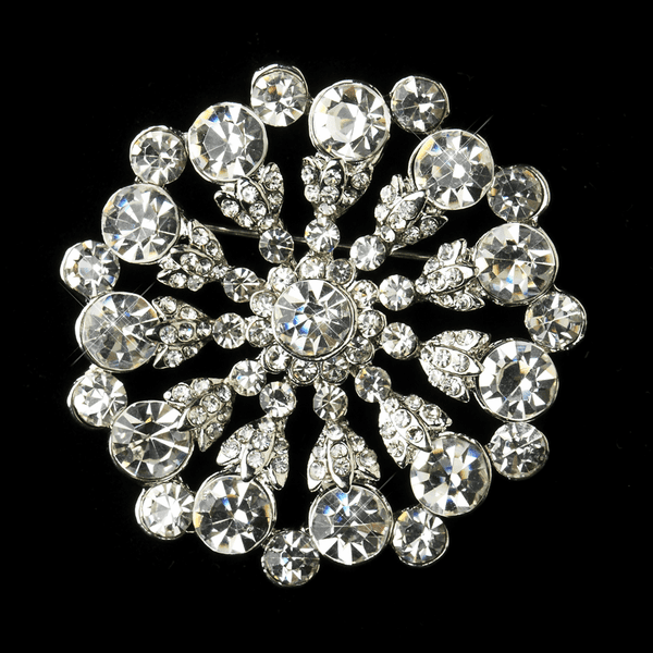Beautiful striking wedding brooch - SALE