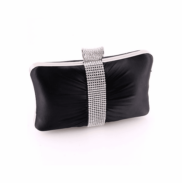 COUTURE crystal black evening purse - SALE!!!