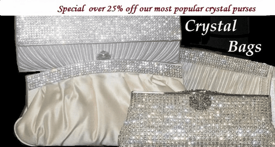 Crystal Evening Purses