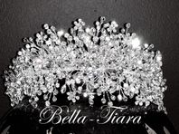 DRAMATIC SWAROVSKI CRYSTAL HEADPIECE - 15% off use code  (tiara15)