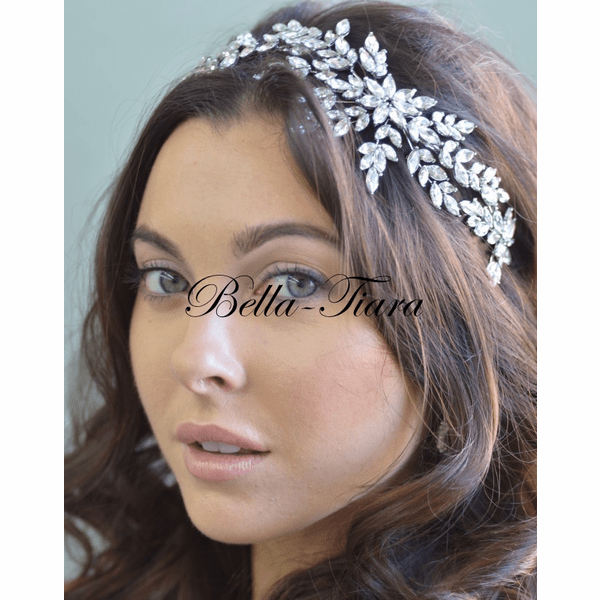 <h3> Elena- Stunning Swarovski crystal headpiece</h3>Free Earrings or Bracelet