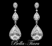 Elena - Gorgeous high end statement wedding earrings - 15% off use code (jewel15)