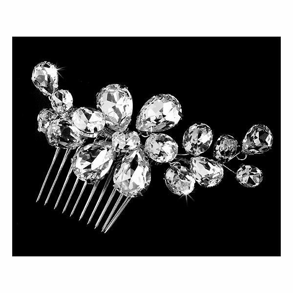 Enza - NEW!!! BOLD COUTURE ELEGANT Rhinestone hair comb - SPECIAL!!!