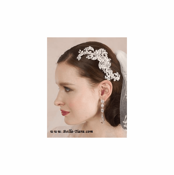 Evie - New royal collection - freshwater pearl and crystal hair comb - SPECIAL