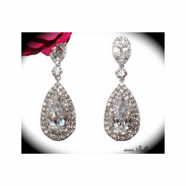 Irana - Royal Collection - Brilliant CZ Earrings - 15% off use code (jewel15)
