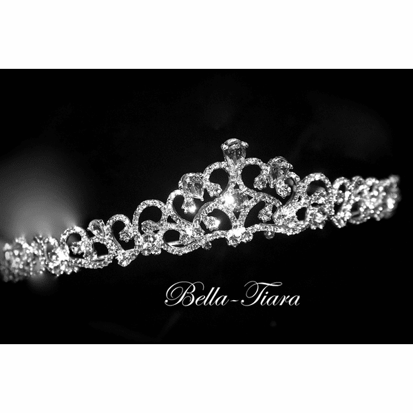 Carezza - Beautifiul swarovski crystal communion tiara<br />Italian Collection