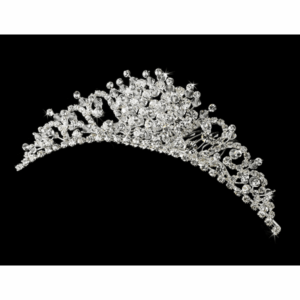 Lory - Dazzling Rhinestone and Crystal Comb - SALE!!
