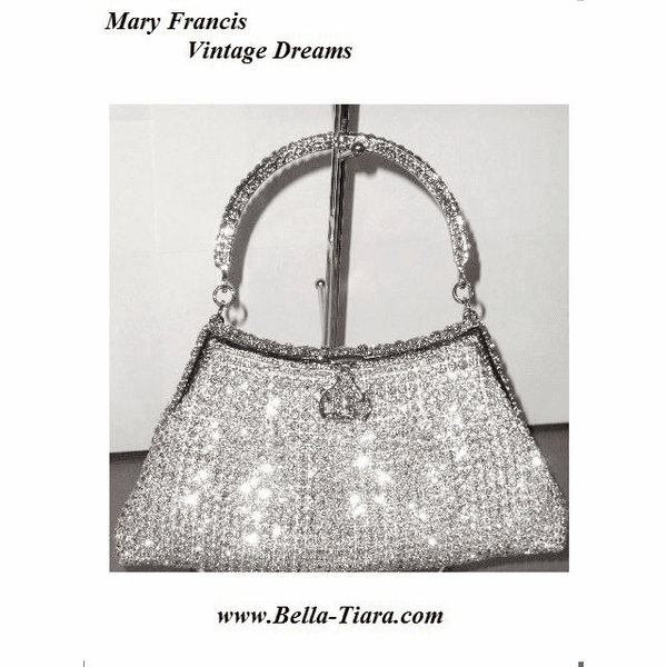 Maria Francis - NEW Amazing swarovski crystal purse -- sold out
