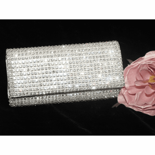 Maria - GORGEOUS!!!  Crystal prom evening Clutch  - SALE!! - sold out