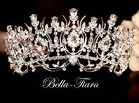 Crystal wedding tiara - SALE
