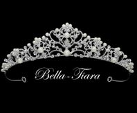 Italian Collection - Pearl crystal communion tiara