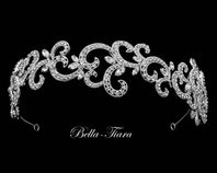 Royal collection crystal swirl wedding headband