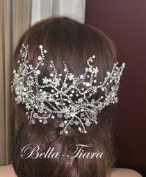Swarovski Crystal wedding headpiece