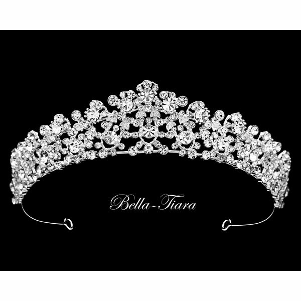 <h4>Nora - Dazzling Swarovksi crystal tiara</h4>Free Earrings or Bracelet