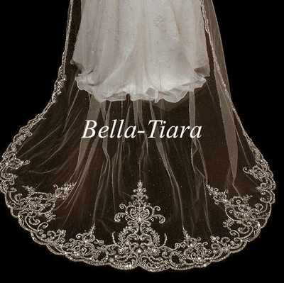 Royal Cathedral Wedding Veils-