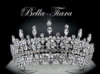 ROYAL COLLECTION -  Swarovski wedding Crystal Crown Tiara - (20% off - code tiara20)