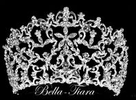Royal Crystal Wedding Crown Tiara -