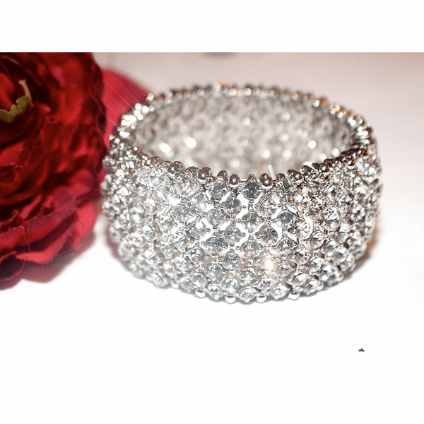 Vela - COUTURE breathtaking crystal stretch bracelet -SPECIAL two left