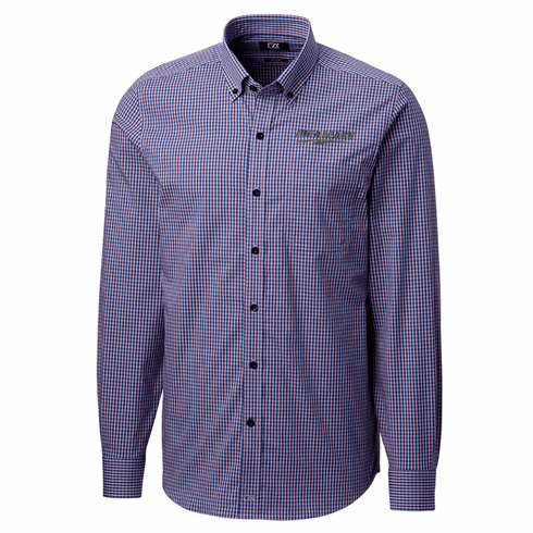 Cutter & Buck Anchor Gingham Tailored Fit