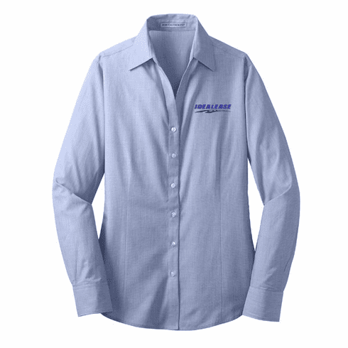 Ladies' Port Authority Crosshatch Easy Care Shirt