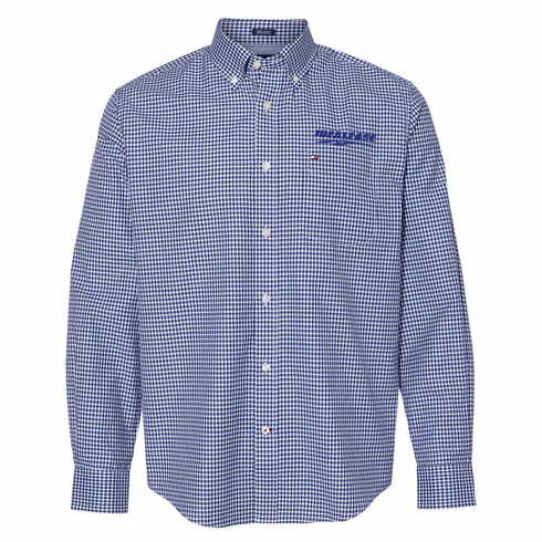Tommy Hilfiger 100s Two-Ply Gingham Shirt